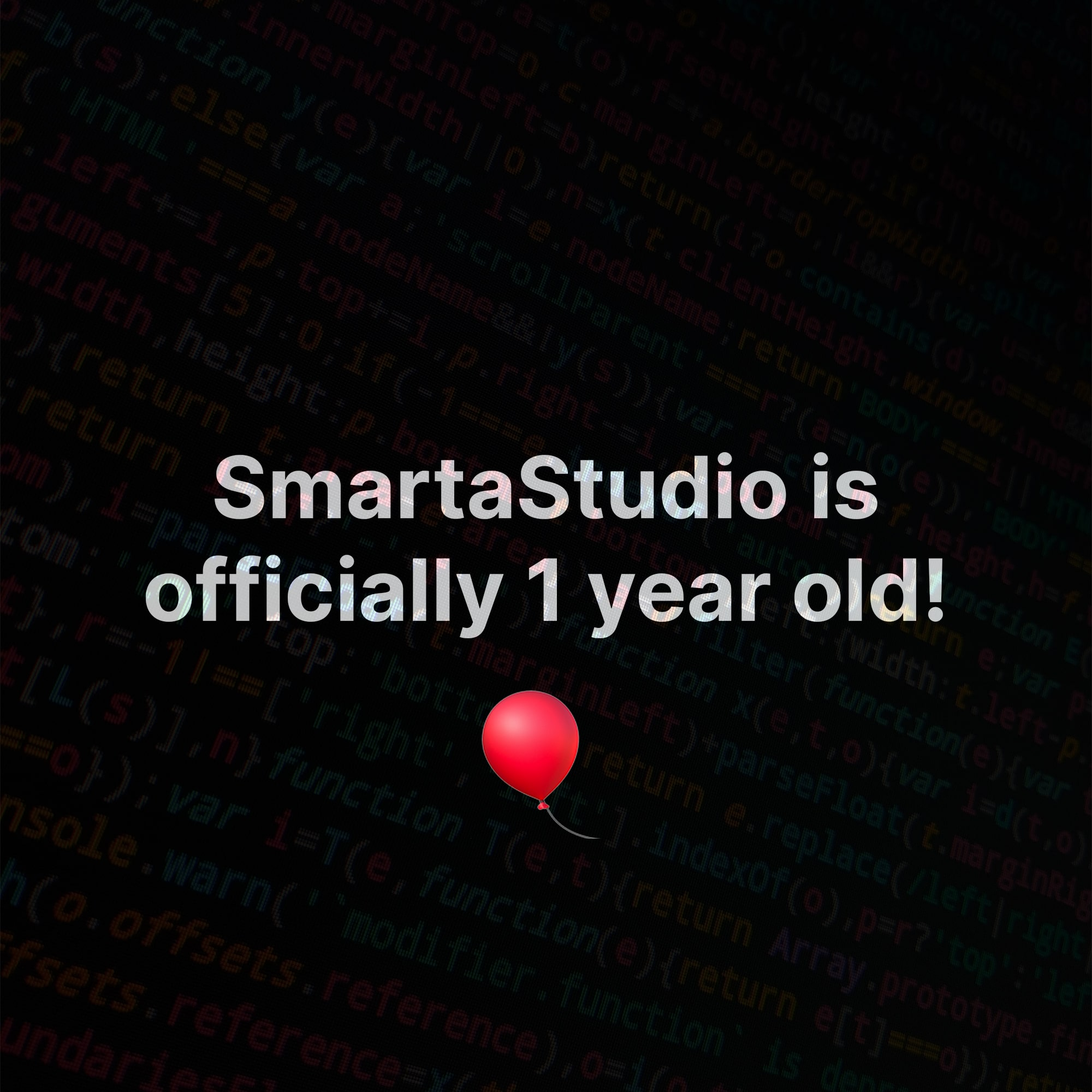 SmartaStudio is officially 1 year old