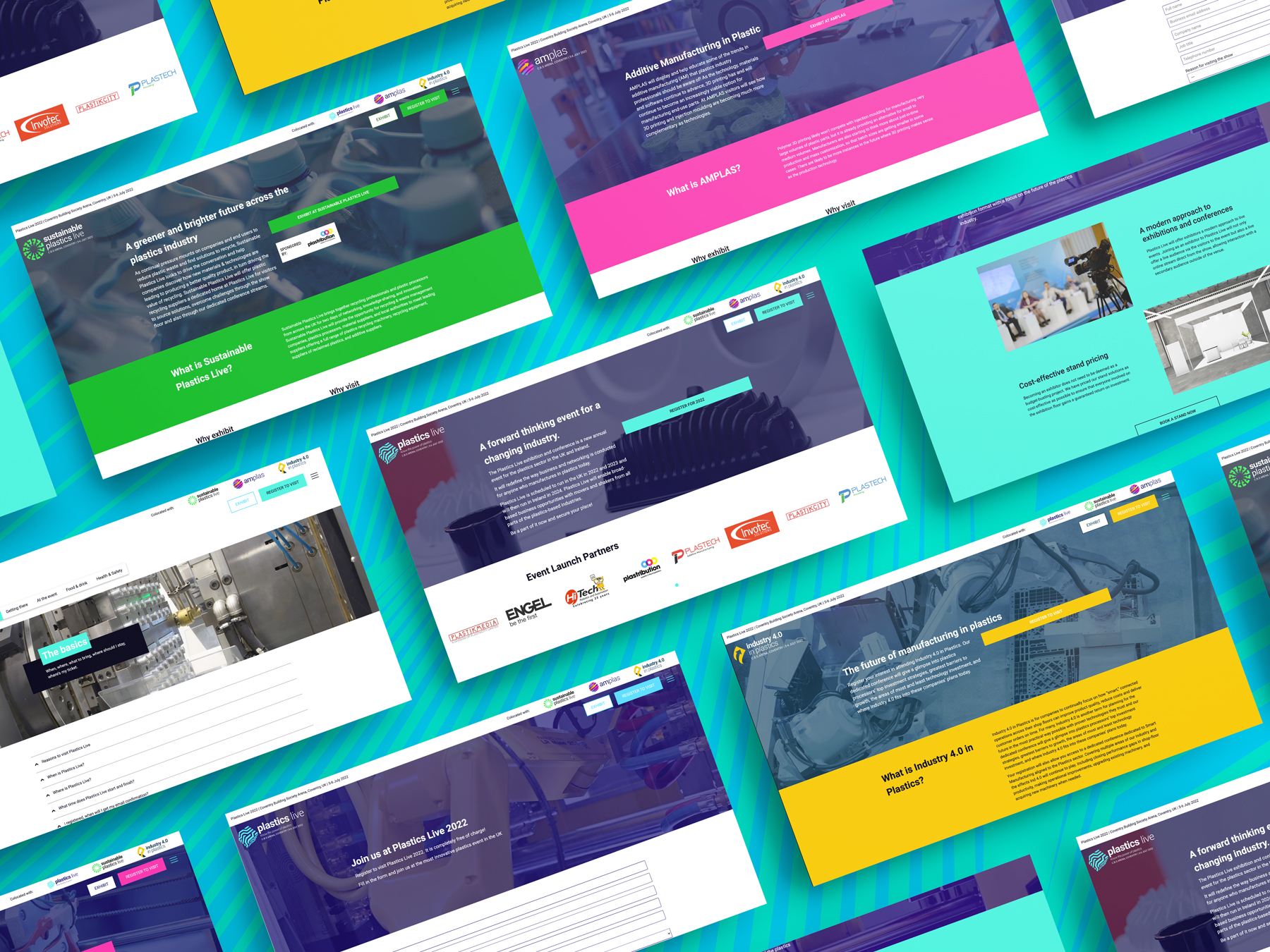 Website for Plastics Live